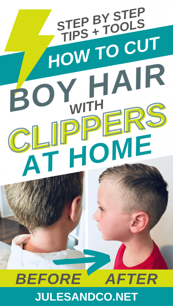 Looking to save some cash and give your boy an awesome haircut at home? Cutting kids hair with clippers at home isn't as hard as you'd think! With a few good tools and some simple techniques, you'll be able to knock out a handsome haircut for your son in no time. Read on for my essential steps and tips!