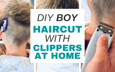DIY Tutorial: Cutting Kids Hair with Clippers at Home