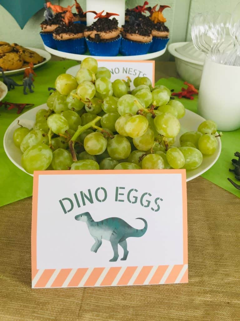 Try these easy dinosaur birthday party ideas for kids! Steal my favorite DIY ideas plus free printables to make your party ROAR!